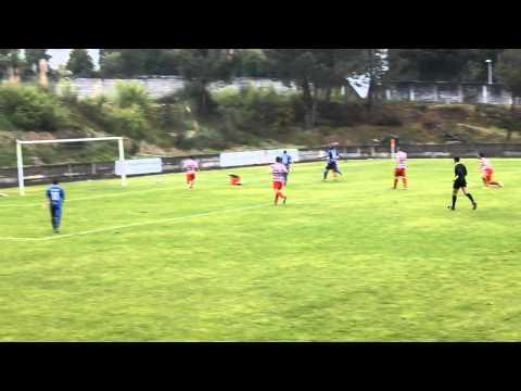 1� Golo: SC S�o Jo�o de Ver 0 - SC Freamunde 2