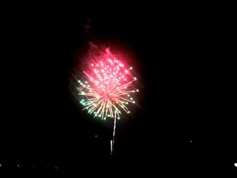 Fireworks at Globe Life Park in Arlington