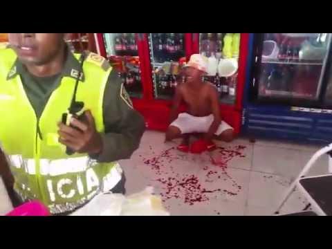 Comunidad de Olaya intentan linchar a presunto ladrón.