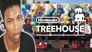 ETIKA REACTS TO SUPER SMASH BROS. ULTIMATE GAMEPLAY - NINTENDO TREEHOUSE | E3 2018