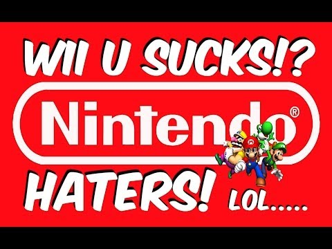 WII U SUCKS!? NINTENDO HATERS AND FANBOYS SALES RAGE PROBLEMS!