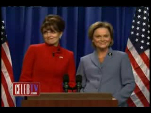 SARA PALIN- TINA FAY on SNL