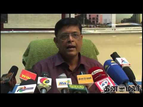 Chance for Rain says Meteorological Dept in Chennai - Dinamalar Oct 1st News