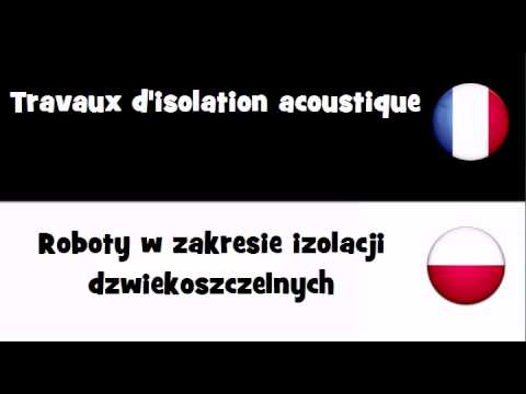 Dites le en 20 langues # Travaux d'isolation acoustique