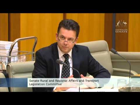 Senate Estimates ATSB 05/05/16 - PelAir, MH370 & Dolan fairwell.