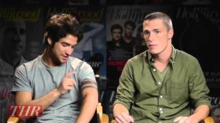 Tyler Posey and Colton Haynes on the Makeup Used in