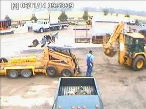 How not to load equipment