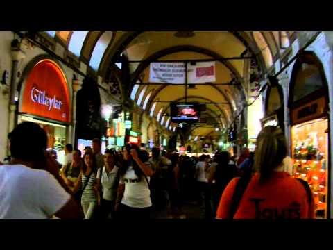Az isztambuli bazár, Törökország - Istanbul's Grand Bazaar