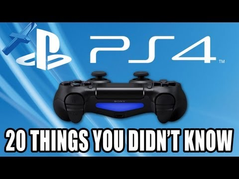 PS4: 20 Things You Didn