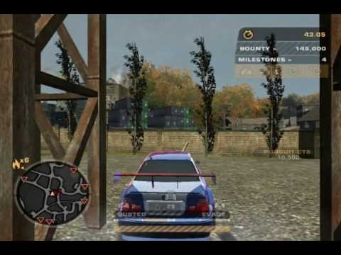 NFSMW: Police unreachable point