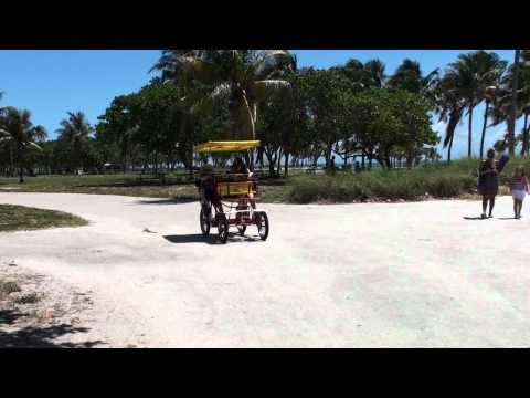 Crandon Park quadricycle, Key Biscayne, Miami, FL