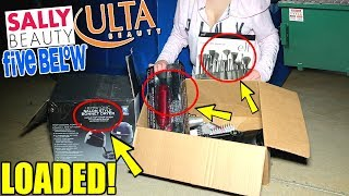 THEY LEFT THEIR DUMPSTERS LOADED! ULTA | FIVE BELOW | SALLY'S
