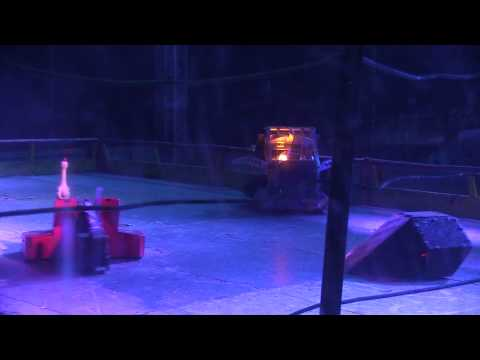 Robot Wars Maidstone 2014 – Behemoth & Thor vs Eruption & TR2