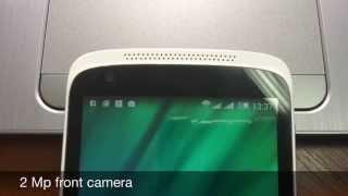 """HTC Desire 526G - """"бюджетный"""" смартфон - видео обзор"""