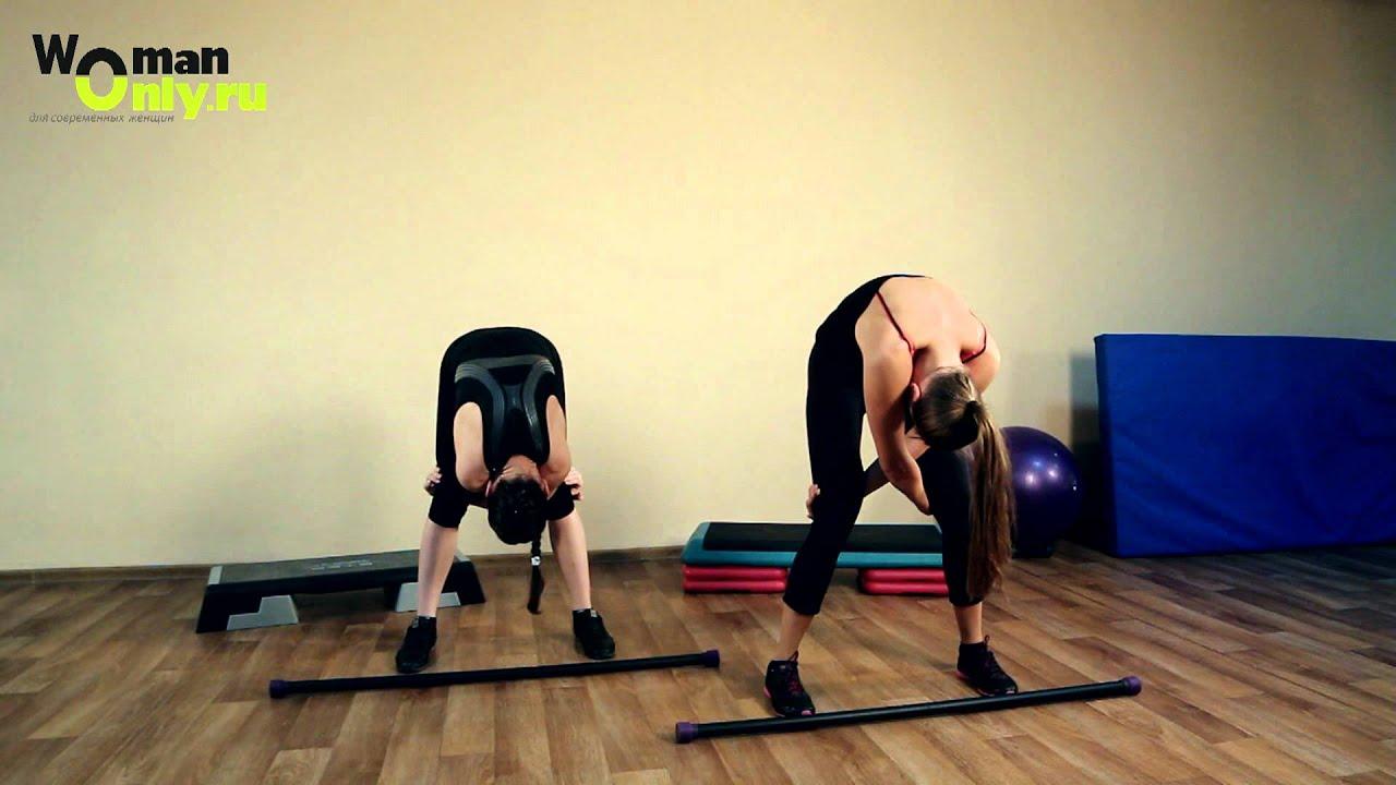 Упражнения на спину в домашних условиях с эспандером
