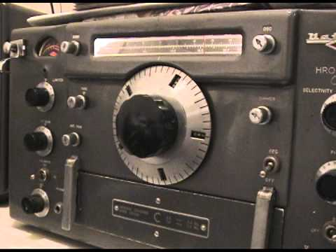 3 of 4 National HRO 60 SIXTY old-timey Ham Radio Receiver