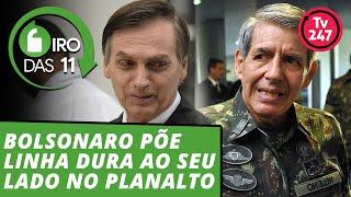 Giro das 11h (6.11.18): Bolsonaro escolhe linha-dura como braço direito