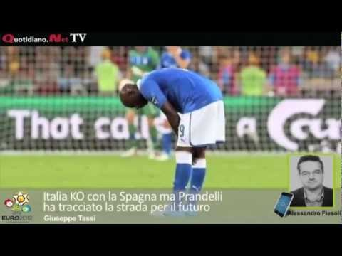 Italia KO con la Spagna ma Prandelli ha tracciato la strada per il futuro