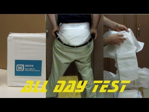 bambino bianco adult diaper test and first look.