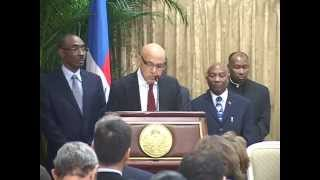 VIDEO: Haiti - Remise Officielle Du Rapport De La Commission Consultative Présidentielle