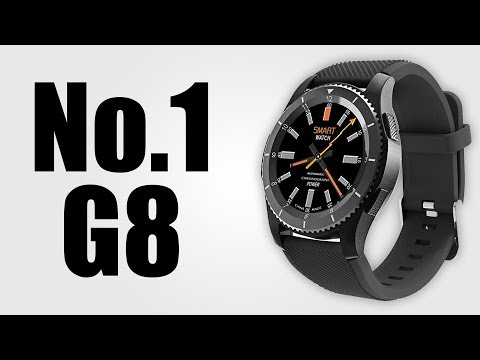 No.1 G8 Smartwatch - 1.3 inch /  Bluetooth 4.0 / Heart Rate / Blood Pressure Monitor / Remote Camera