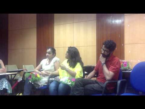 Mdes design space NIFT Mumbai . Orientation Programme 2014 Alumini speak part 2