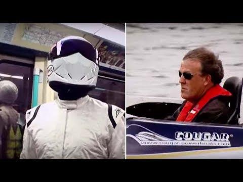 Boat Vs Bike Vs Car Vs Public Transport - The Stig - Top Gear - BBC