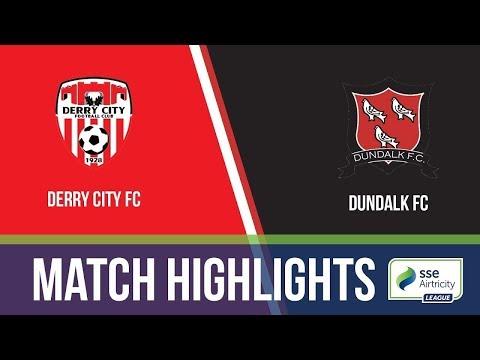HIGHLIGHTS: Derry City 0-4 Dundalk