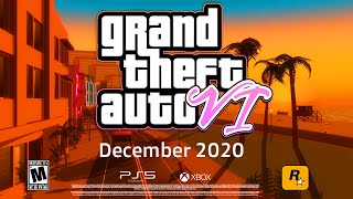 GTA 6 Release Date - NEW Info! Holiday 2020 Announcement, PS5 Exclusive & More!? (GTA VI)