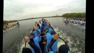 "Dragonboat, 2016 Ukrainian Cup, 12km. ""SALSA"" Point of View, 3rd place"