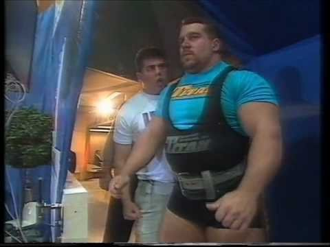 Powerlifting world championships 1995, squat 440kg Kirk Karwoski Image 1