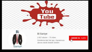 YOUTUBE KANAL TANITIM !!