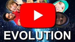 The Evolutionary History of YouTube
