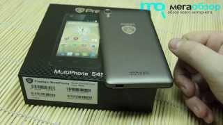 Обзор смартфона Prestigio Multiphone 5454 DUO