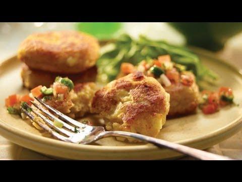 Tortitas de papa y huevo / recetas de comida mexicana /mexican food