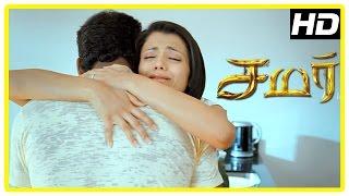Samar Tamil Movie Scenes | Narayan enters as Trisha