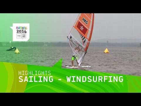 Men's And Women's Windsurfing - Highlights | Nanjing 2014 Youth Olympic Games