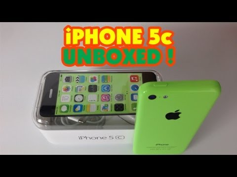 Apple iPhone 5c Unboxing & First Look