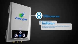 blue gaz Gas Water Heater