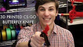 download lagu 100% 3d Printable Cs:go Butterfly Knife gratis