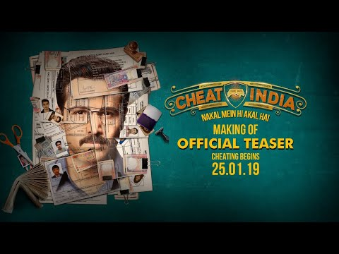 Making Of CHEAT INDIA Teaser | Emraan Hashmi | Shreya Dhanwanthary | Soumik Sen