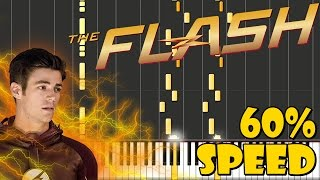 The Flash - The Tsunami / Reveal to Iris Piano Tutorial [60% Speed]
