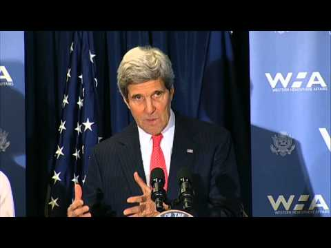 Secretary Kerry Delivers Remarks at the Launch of the 100K Strong in the Americas Partnership