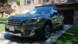 2016 Subaru Outback Limited 20K Review