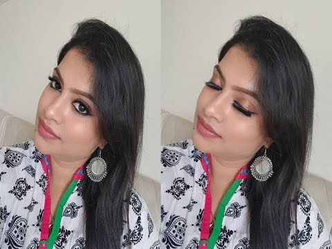 STEP BY STEP MAKEUP LOOK FROM BEGINNERS MAKEUP KIT