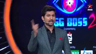 Bring back your favorite evicted contestant  #BiggBossTelugu2 Today at 9:30 PM
