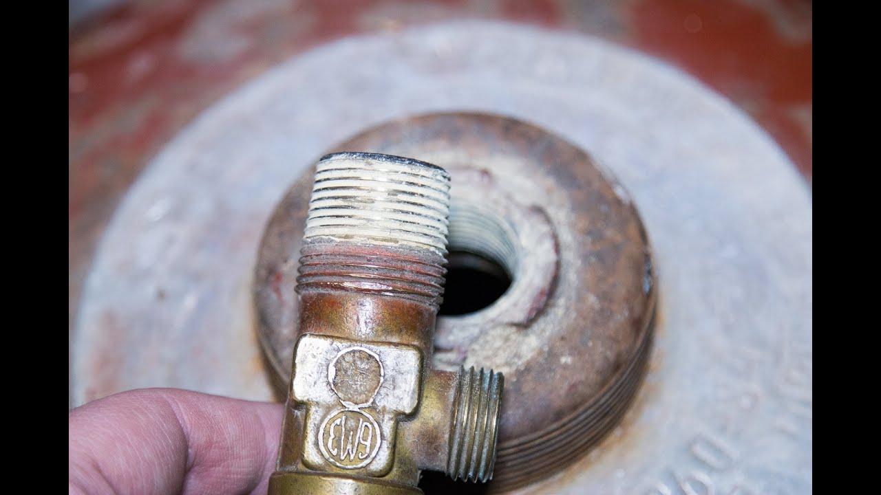 Ремонт газового клапана своими руками 61