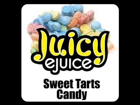 Sweet Tarts Candy - Juicy eJuice : Vaped Reviews Quickie