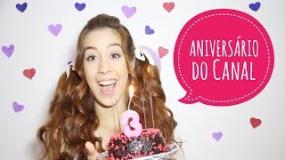 Aniversário do Canal + Sorteio Divah ♥