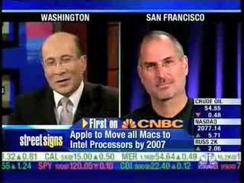 Steve Jobs CNBC Interview